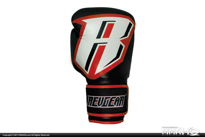 Revgear Platinum Leather Boxing Gloves